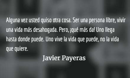 Marchitando. Javier Payeras.
