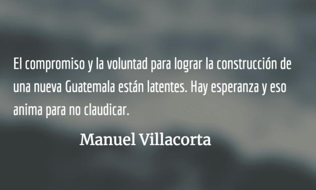 Unidad popular para el triunfo electoral. Manuel Villacorta.