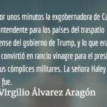 El autogolpe de Jimmy Morales. Virgilio Álvarez Aragón.