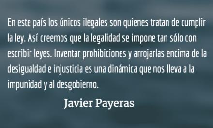 Ilegal. Javier Payeras.