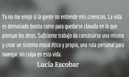 De religiones y búsquedas espirituales. Lucía Escobar.