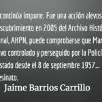 """""""Meme"""" es siempre """"Meme"""". Jaime Barrios Carrillo."""