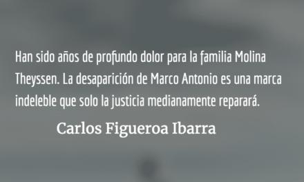 Justicia para la familia Molina Theyssen. Carlos Figueroa Ibarra.