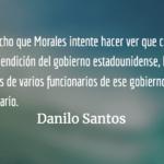 Haley, Gutiérrez y Morales. Danilo Santos.