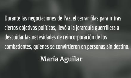 20 años después. María Aguilar.
