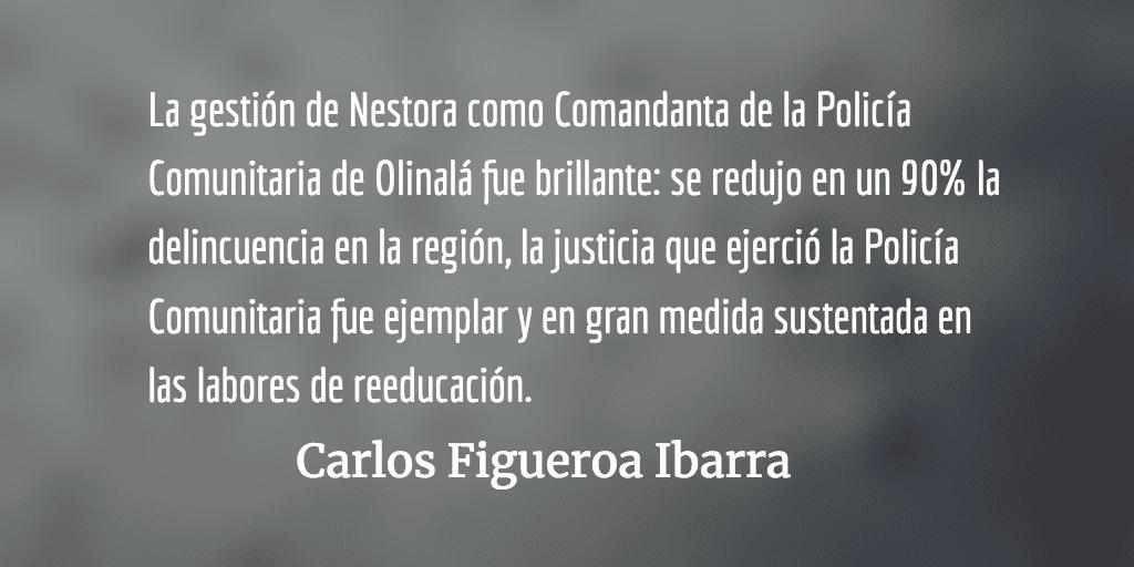 La satanización de Nestora Salgado. Carlos Figueroa Ibarra.