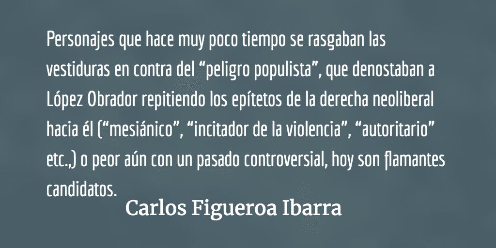 Morena, candidaturas y dilemas. Carlos Figueroa Ibarra.