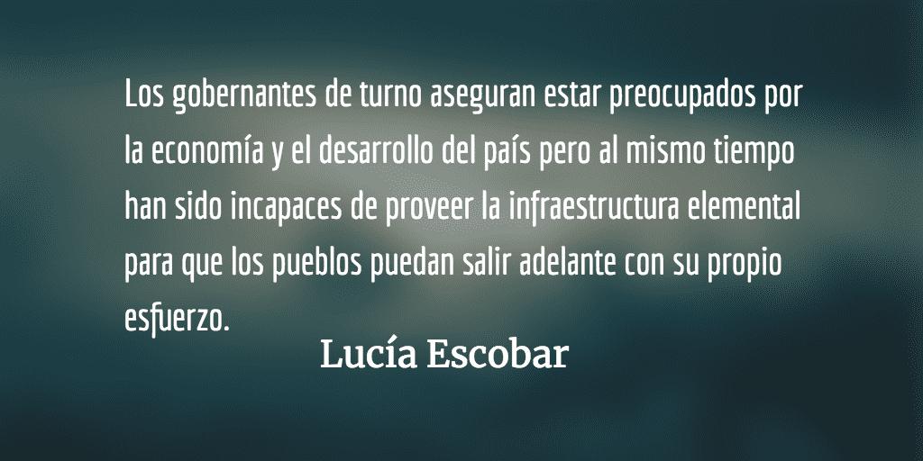 Un lugar que no existe (para algunos) y sin embargo existe. Lucía Escobar.