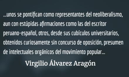 A los periodistas no los matan por culpa de la libertad. Virgilio Álvarez Aragón.