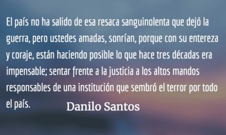 Sonrían amadas mías. Danilo Santos.