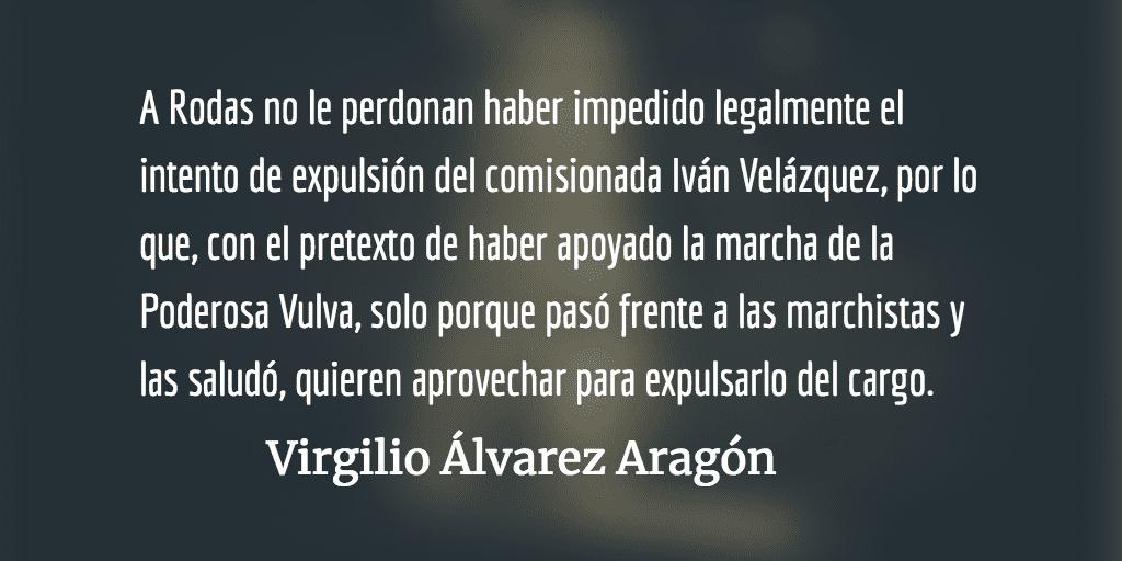 Demagógica religiosidad. Virgilio Álvarez Aragón.