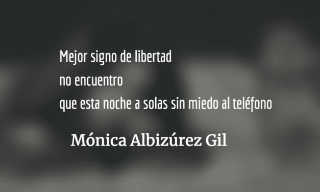 Mujer sola. Mónica Albizúrez Gil.