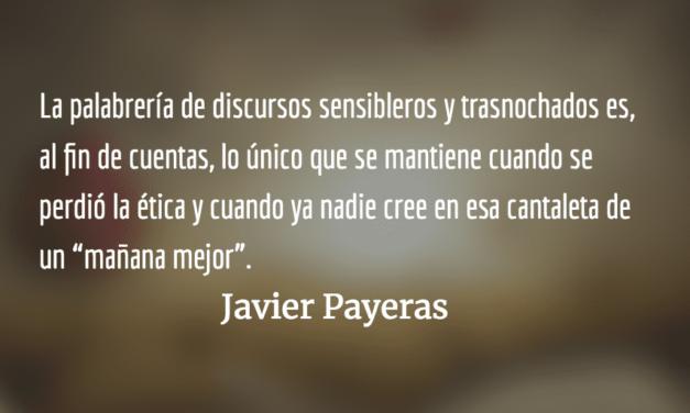 Poder de hoy. Javier Payeras.