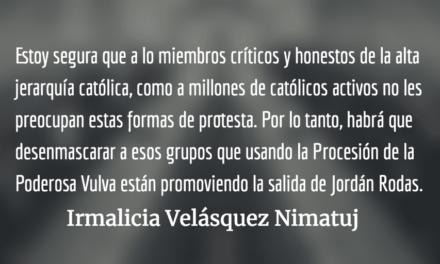 La doble moral guatemalteca. Irmalicia Velásquez Nimatuj.