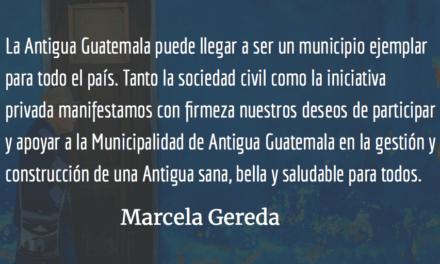 Antigua libre de plásticos de un solo uso. Marcela Gereda.