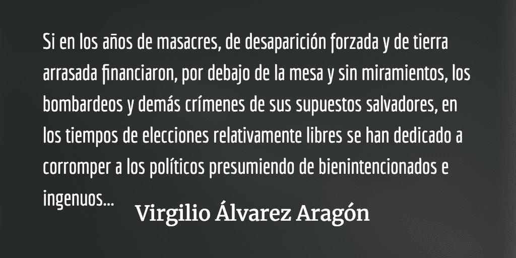 Especialistas en facturas falsas. Virgilio Álvarez Aragón.