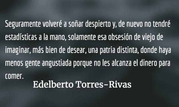 Las herramientas del engaño. Edelberto Torres-Rivas.