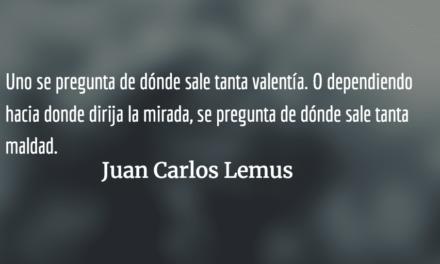 Relámpago en la noche: Molina Theissen. Juan Carlos Lemus.