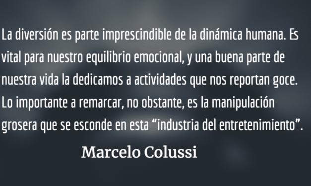 Cultura popular: entre el arte, el negocio y el control social. Marcelo Colussi.