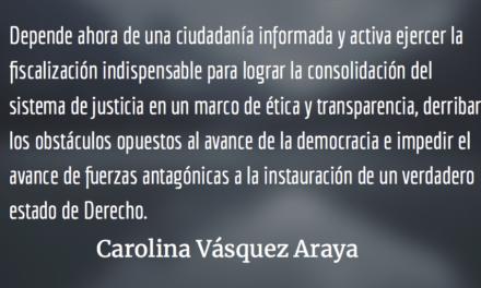 Tiempos de tormenta. Carolina Vásquez Araya.