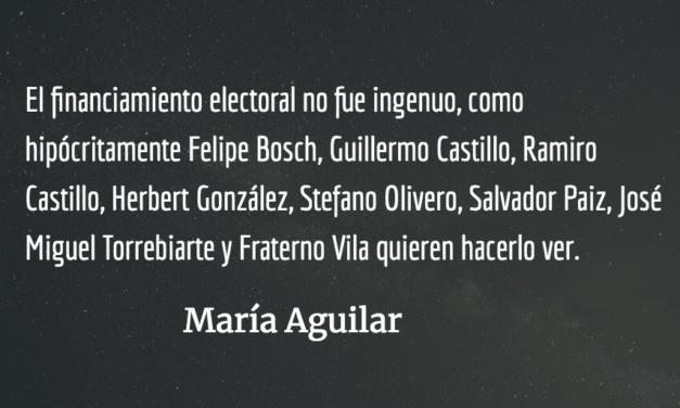 ¡Ya basta! María Aguilar