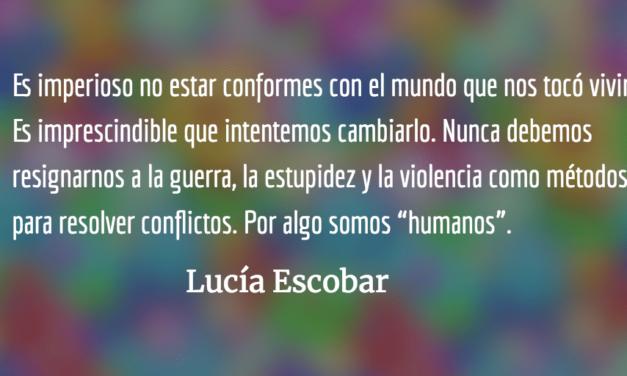 ¿Terapia de amor o chancletazo? Lucía Escobar