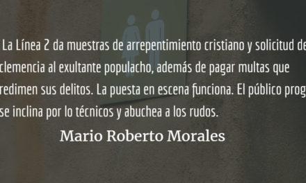 Los enmascarados de plata. Mario Roberto Morales.