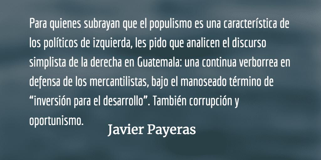 Broma siniestra. Javier Payeras.