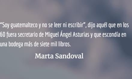 Qué aburrido hubiera sido ser feliz. Marta Sandoval.
