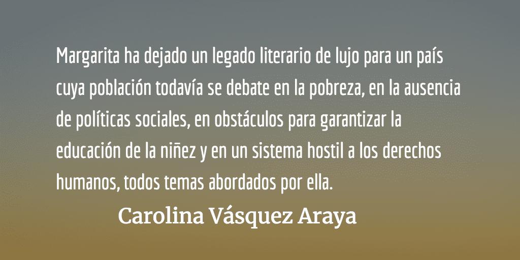 Deshojando la margarita. Carolina Vásquez Araya.