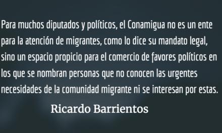 Marvin Otzoy, el Conamigua y la vieja política. Ricardo Barrientos.