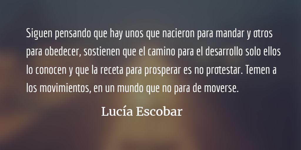 Centroamérica arde. Lucía Escobar.
