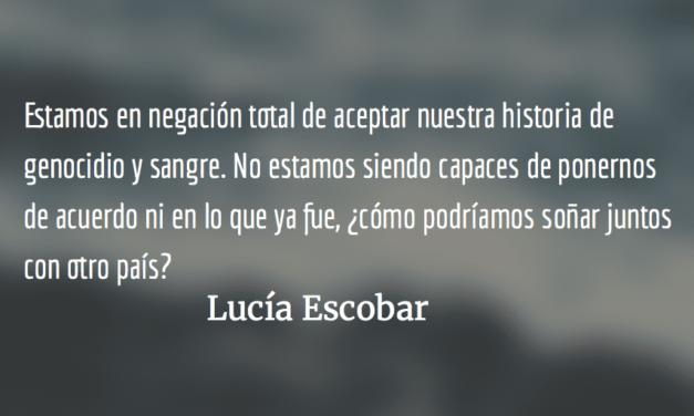 Socaribe. Lucía Escobar.