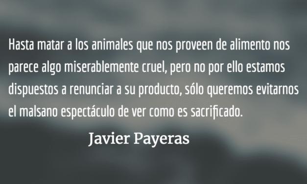 Matar. Javier Payeras.
