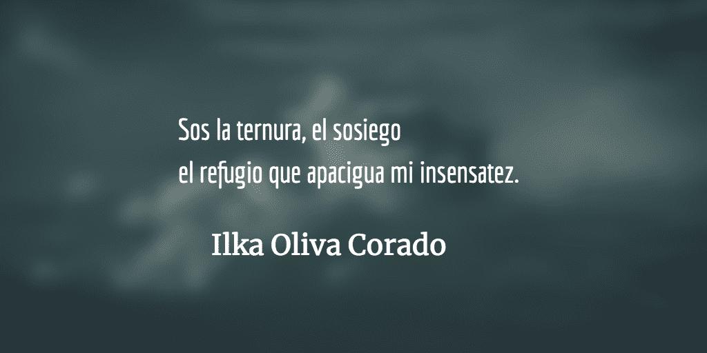 A veces. Ilka Oliva Corado.