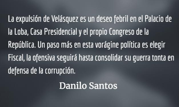 Guerra tonta: No se atreva señor Morales. Danilo Santos.
