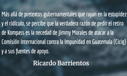 Política exterior rastrera y corrupta. Ricardo Barrientos.