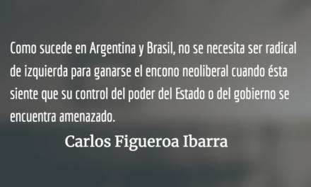 AMLO: separar el poder político del poder económico. Carlos Figueroa Ibarra.