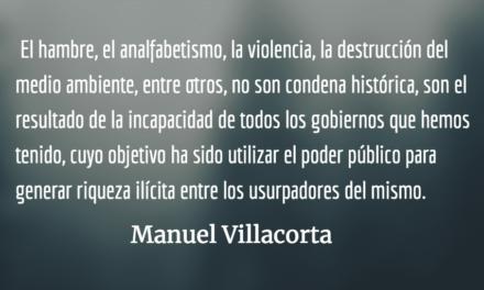 Cinco mentiras que debemos rechazar. Manuel Villacorta.