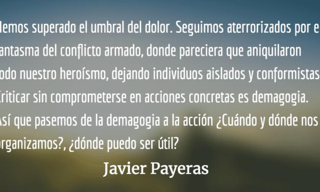 Rojo. Javier Payeras.