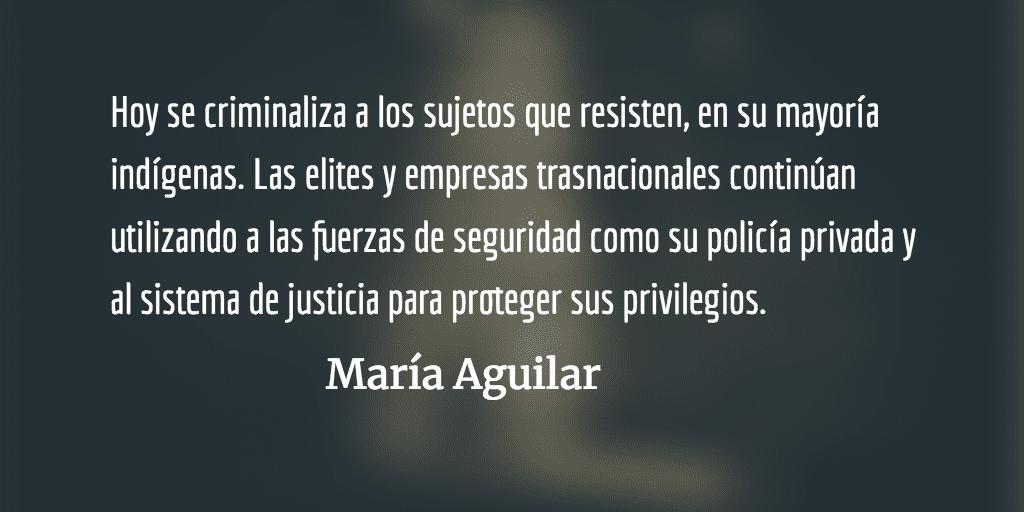 La absurda Guatemala. María Aguilar.
