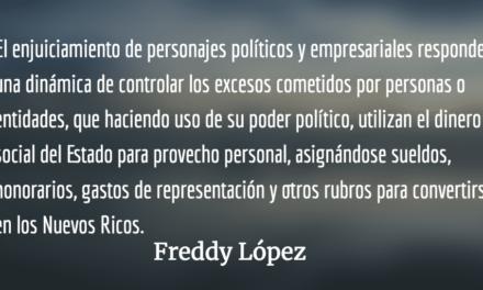 ¿Qué consuelo? Fredy López