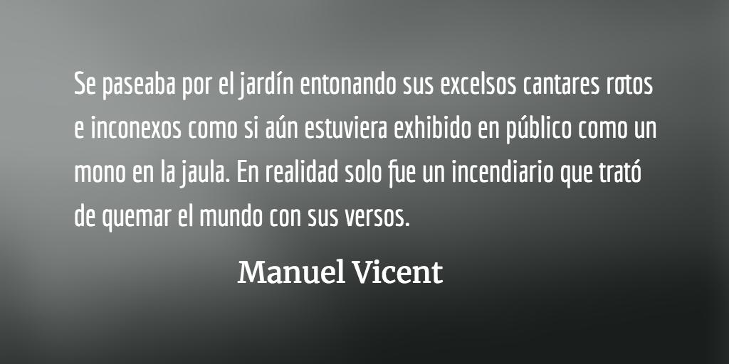 Ezra Pound: santo laico, poeta loco. Manuel Vicent.