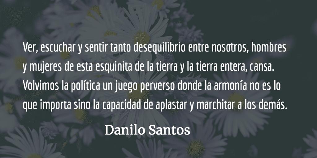 Magnus, el planeta de las flores. Danilo Santos.
