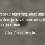 La dignidad y resistencia de la  familia Molina Theissen. Ilka Oliva Corado.