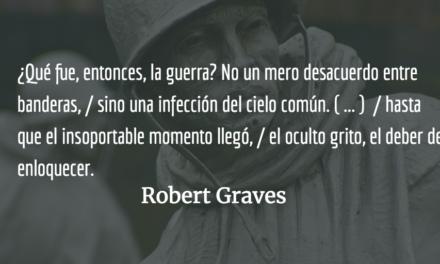 Poetas en la guerra, el grito oculto. Lucía Graves.