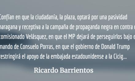 En defensa del procurador de los derechos humanos. Ricardo Barrientos.