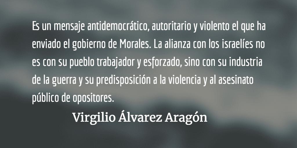 Peligroso cinismo presidencial. Virgilio Álvarez Aragón.