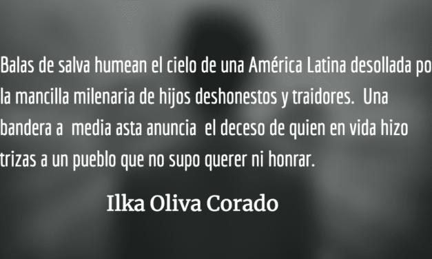 Idealizar  a corruptos y dictadores. Ilka Oliva Corado.