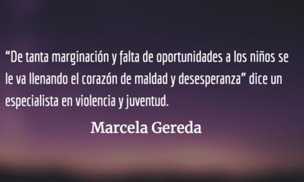 Infancia y violencia. Marcela Gereda.